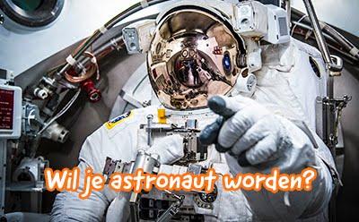 Astronaut worden?