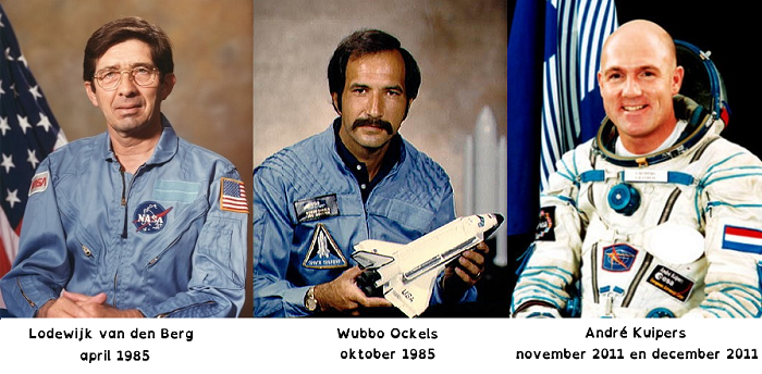 Nederlandse astronauten